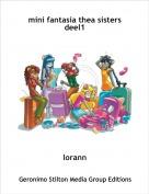 lorann - mini fantasia thea sisters deel1