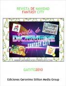GATITO2010 - REVISTA DE NAVIDADFANTASY CITY