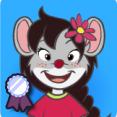 Kleine goudhart muis